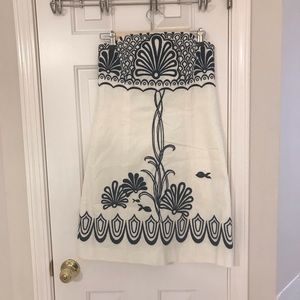 Lilly Pulitzer strapless dress size 6